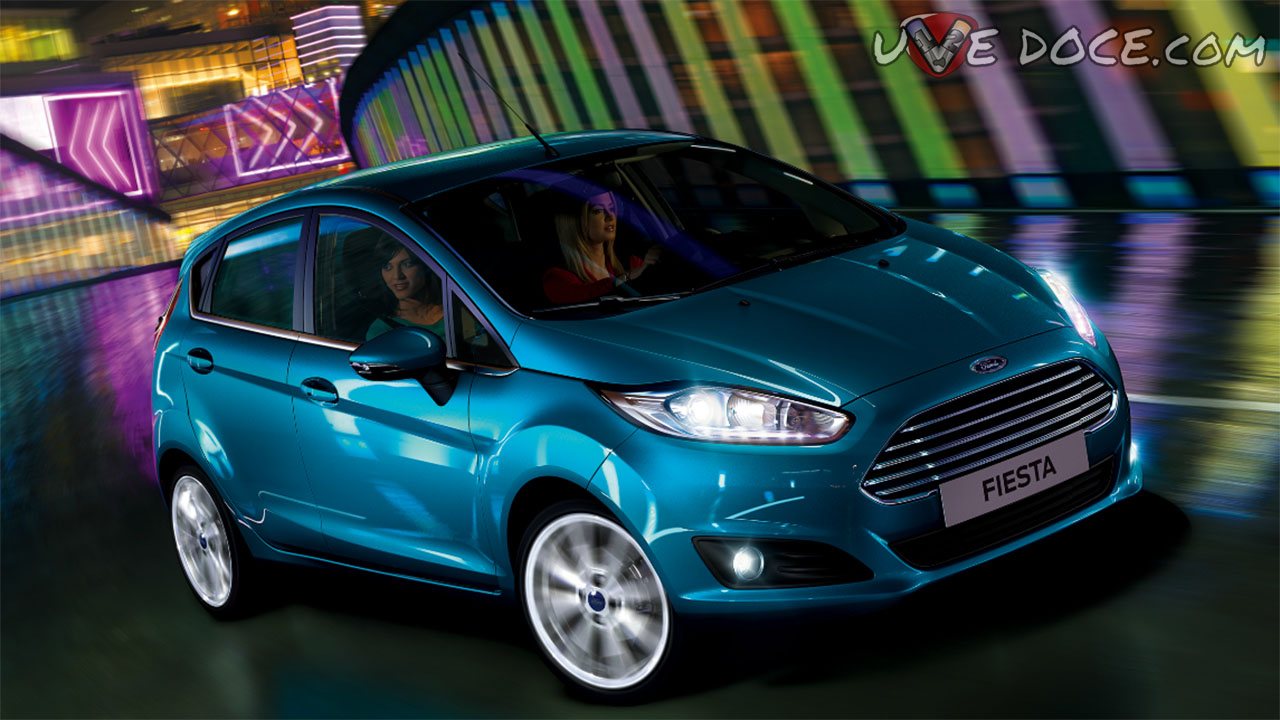 Ford Fiesta Azul Candy