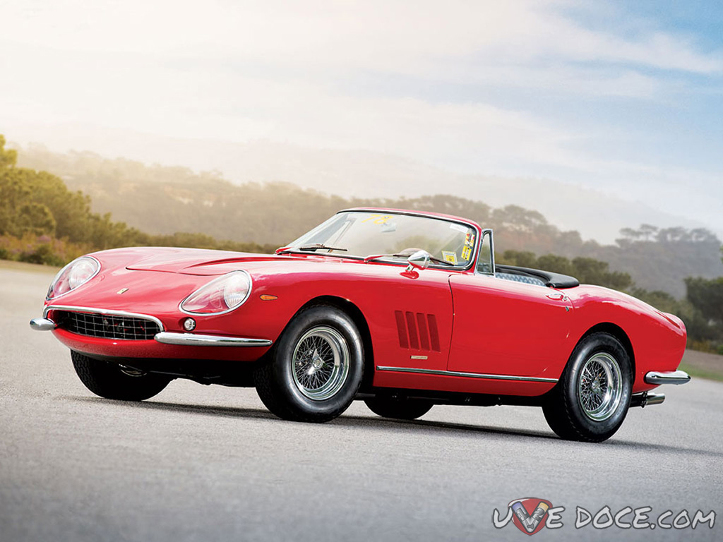 RM Auctions offers stunning Ferrari 275 GTB/4 N.A.R.T Spyder at its Monterey, California, sale, August 16–17 during the Pebble Beach Concours d'Elegance week